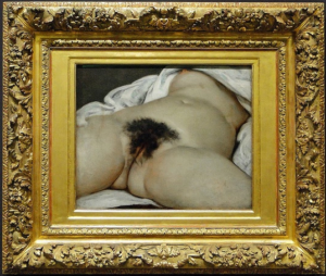 Gustave Courbet. The origin of the world 1866