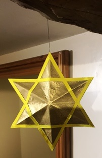 How to make a 3D star of David.