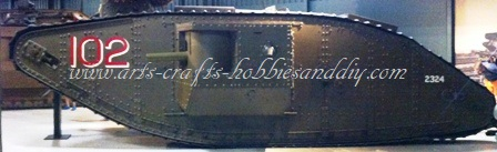 WWI Model landship Kit
