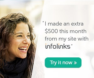 Contextual advertising with infolinks